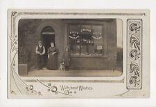 Accrington J Walker Shop circa 1905/10 RP Postcard 392b
