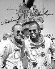 GORDON COOPER & CHARLES CONRAD (Gemini 5) - Repro-Autogramm, 20x25cm, NASA