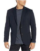 Essentials Men's Knit Sport Coat, Navy, XX-Large, Navy, Size XX-Large