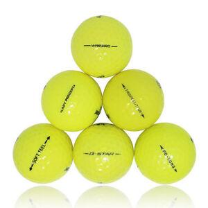 120 Premium Yellow Mint Used Golf Balls AAAAA *SALE!*