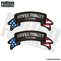 9-11 Remember 18In X-Large Vinyl Sticker WallCar Decal 911 Never Forget Nyc