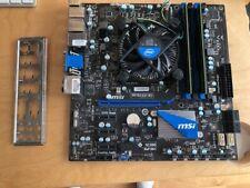 MSI H67MA-E45 (B3) mit Intel i3-2100T und 8GB DDR3 Ram, Top-Zustand