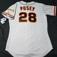 Authentic Majestic 60 4XL, San Francisco Giants BUSTER POSEY, ON FIELD JERSEY