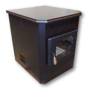 CORN STOVE Adjustable BTU 8,000 - 30,000 BTU's Direct Vent MADE IN USA! 2100
