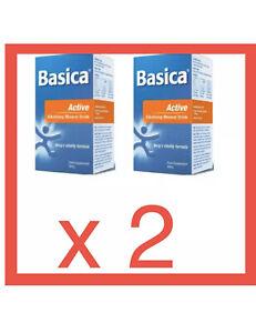 2 X Basica Active E Alkalising Mineral Formula 300g( EXPRESS POST)