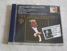 LEONARD BERNSTEIN: Beethoven Sinfonie Nr. 5  & Werkeinführung (gespr. von LB)