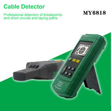 Portable Professional Wire Cable Metal Pipe Locator Detector Tester Line Tracker