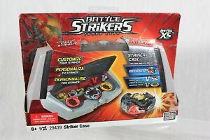 Mega Bloks Battle Strikers Turbo Tops Striker Case 2943 Metal XS Dragonfire II