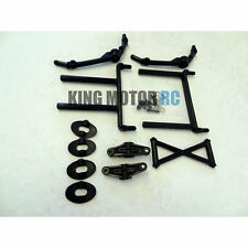 King Motor T1000 5T Front & Rear Body Mount Kit Fits HPI Baja 5T 5SC Rovan