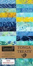 "Timeless Treasures Angelfish Tonga Treats Jr. Jelly Roll 20 Batik 2.5"" Strips"