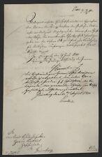 443c❚ Currende 1840 von Königliche Regierung Liegnitz