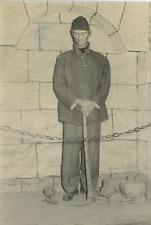 Argentine, La Plata, musée de la police Vintage silver print Tirage argentique