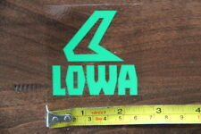 LOWA Boots STICKER Decal NEW Clear Green LOGO