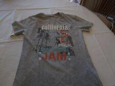 Aeropostale t shirt California boyfriend fit small S gray TEE womens juniors