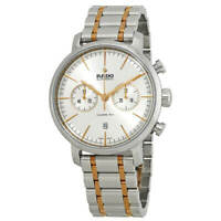 Rado R14070103 Men's DiaMaster Silver Tone Dial Chronograph Watch