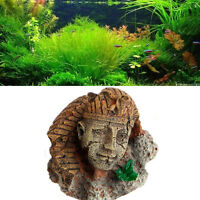 Egyptian Pharaoh Ancient Sphinx Ruins Aquarium Ornament Fish Tank Decoration Hot