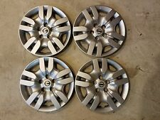 "Set Of 4 Brand New 2009 2010 2011 2012 Altima 16"" Wheel Covers Hubcaps 53078"