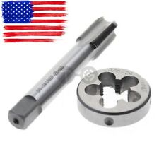 Greenfield Tap Tap Right Hand Straight Flute Hand 5//16 18 Pitch High Speed Steel TiN Finish 305403-2 Packs