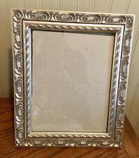 Vintage Ornate Silver Frame 8 X 10