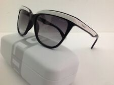 Police occhiale da sole Donna 2015/16 modello 1878s Nero Bianco a Gatta sfumato