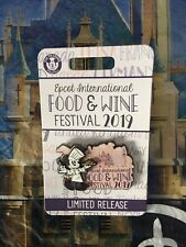 Disney Parks Epcot International Food & Wine Festival Chef Mickey Mouse Pin Lr