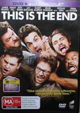THIS IS THE END DVD - STARS JAMES FRANCO - IN EXCELLENT CONDITION