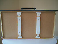 2 STRONG SUPPORTS FULLY ADJUSTABLE Drawer Repair Kit DIY 45cm to 60cm (1 PAIR)