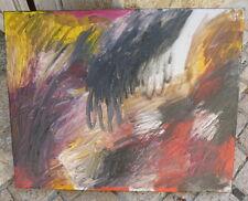 """Peinture contemporaine par la grande artiste Christiane DUMAS """"Corrida"""""""