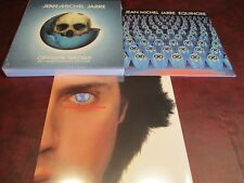 JEAN MICHEL JARRE OXYGENE TRILOGY BOX LP/CD SET + MAGNETIC FIELDS & EQUINOXE LPS