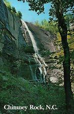 Hickory Nut Falls at Chimney Rock Park North Carolina NC, Waterfall --- Postcard