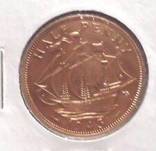 CIRCULATED 1943 HALF PENNY UK COIN! (021516)