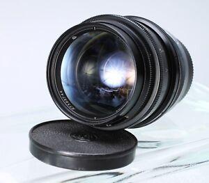 JUPITER-9 BLACK 85mm F/2 for KIEV, CONTAX RANGEFINDER ZEISS SONNAR COPY