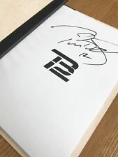 Tom Brady TB12 Nutrition Manual Cookbook Recipe Book AUTOGRAPHED Rare Hardcopy