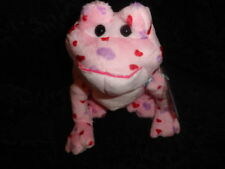 NEW Webkinz Love Frog Pink w/ Red & Purple Hearts Valentines Day Plush HM144
