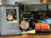 Writer's Express Homeschool Curriculum Lot By Work Source