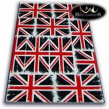 Moderne Thème Tapis 'Flash' Union Jack 2, Grande Bretagne, Imprimé Zone Pas Cher