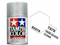 Tamiya 85079 TS-79 Semi Gloss Clear Coat Lacquer Spray Paint 100ml - US