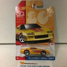 '85 Chevrolet Camaro Iroc-Z * 2018 Hot Wheels Throwback Decades 50th Anniversery