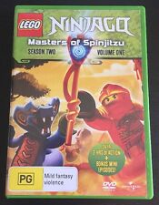 Lego Ninjago: Masters of Spinjitzu - Season 2 Volume 1 DVD
