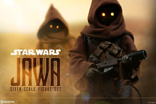 STAR WARS SIDESHOW COLLECTIBLES 1/6 SCALE JAWA ACTION FIGURE SET