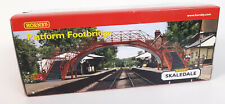 HORNBY SKALEDALE R8641 PLATFORM FOOTBRIDGE VERY GOOD COND BOXED OO GAUGE(SN)
