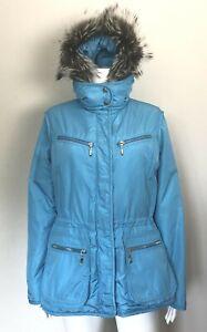 POSTCARD Turquoise Ski Jacket, sz 6