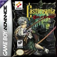 Castlevania Circle Of The Moon - Game Boy Advance Gba