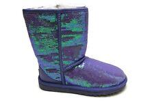 UGG Australia Womens Classic Short Sparkles (PRVC) Purple Violet Boot Shoe 8