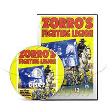 Zorro's Fighting Legion (1939) Republic Movie Serial Cliffhanger (2 x DVD)