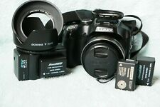 Panasonic FZ70 16 MP digicam with five extra.Perfect working condition.