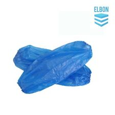 200 Blue Disposable Over Sleeves Plastic Arm Sleeves Covers Cleaning Protective