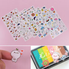 6 kawaii decorative stickers diary Decor Stick  label children's gift stationery