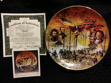 "Antique ""Shiloh"" Battles of the American Civil War authentic plateware #1174A"