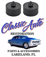 """68-75 GM Trunk Deck Lid Bumpers Bump Stops LARGE PAIR 7/8"""" X 1/2"""" 1926"""